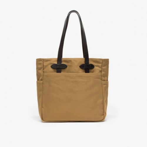 Open Tote in Tan