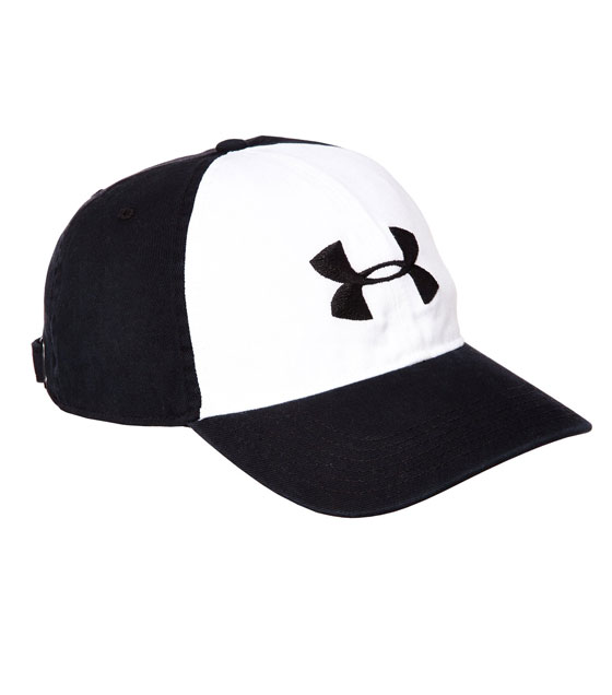 Under Armour Men's Washed Curved Adjustable Cap